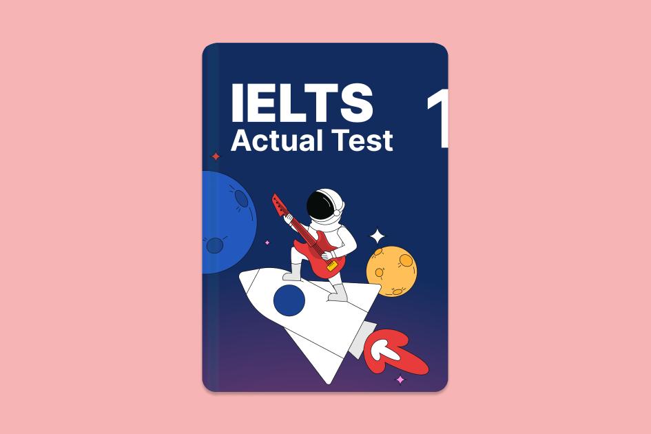 IELTS Actual Test 1